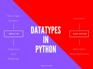 Python Tutorial: Nail PYTHON DATA TYPES in 5 min. Datatype trick.