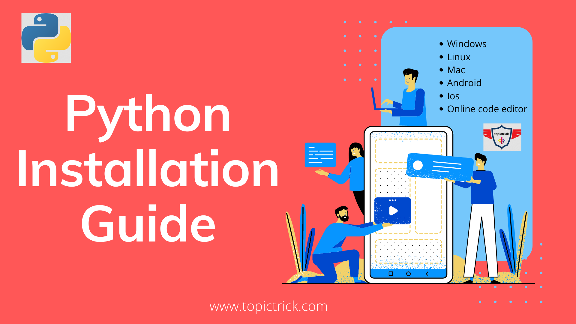 Step wise Guide to install python in just 5 mins | Python made Easy